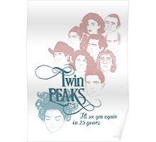 Twin Peaks Scene Poster