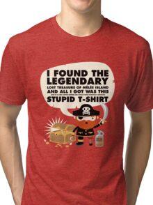 Monkey Island Pirate Melee Island Tri-blend T-Shirt