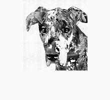 Black And White Great Dane Art Dog By Sharon Cummings Unisex T-Shirt