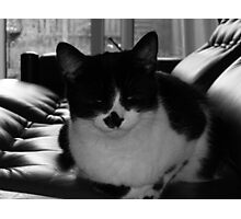 Milly chilling 70s style Photographic Print