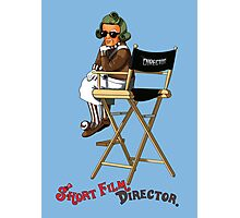Short Film Director Photographic Print