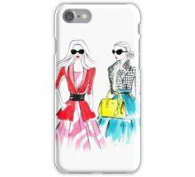 Shopping day iPhone Case/Skin