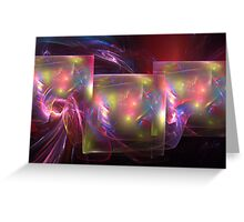 Light shields Greeting Card