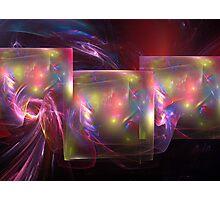 Light shields Photographic Print