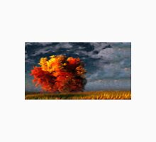 Twilight Fall Tree Oil Painting Unisex T-Shirt