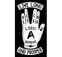 Logical Hand Photographic Print