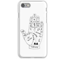 Twin Peaks Palmistry iPhone Case/Skin