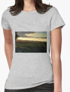 Light and Darkness - HDR Womens Fitted T-Shirt