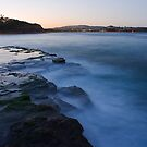 Dusk at Warriewood Beach by Andi Surjanto