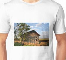 All Alone on the Stark Prairie Unisex T-Shirt