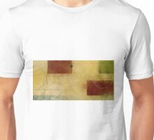 Squares Circles Lines Oil Painting 1 Unisex T-Shirt