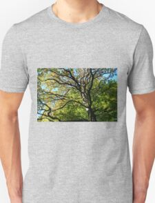 Looking up - HDR Unisex T-Shirt