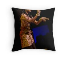 Silver Donkey - The Performers #4 Throw Pillow