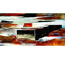 Abstract Colors Oil Painting #84 Photographic Print