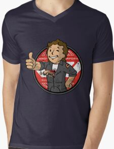 Alien on Board (sticker) Mens V-Neck T-Shirt