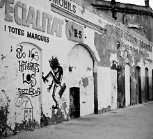 Barcelona's Wall - 2009 by Luca Tranquilli