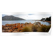 Colours of Coles Bay Poster