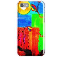 Tree Rock Sun iPhone Case/Skin