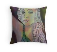 Hand Digital Me Throw Pillow