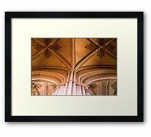 The Cathedral IV - Uppsala, near Stockholm, Sweden Framed Print