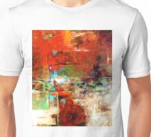 Abstract Colors Oil Painting #78 Unisex T-Shirt