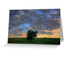 Nebraska Sky 3 Greeting Card