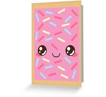Strawberry Pop Tart Greeting Card