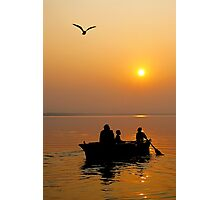 The Holy Ganga at Varanasi #2 Photographic Print