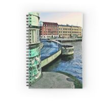 Copenhagen City View by Tim Constable. Spiral Notebook