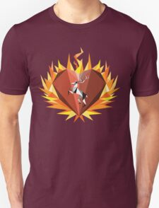 The Flaming Heart T-Shirt