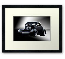 1941 Willys Coupe 'Studio' I Framed Print