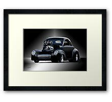 1941 Willys Coupe 'Studio' II Framed Print