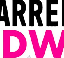 #DARRENISHEDWIG Sticker