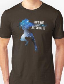 Mass Effect Silhouettes, Garrus - Don't Wait, Just Calibrate! T-Shirt