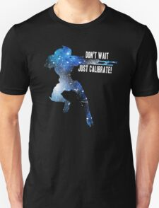 Mass Effect Silhouettes, Garrus - Don't Wait, Just Calibrate! T-Shirt