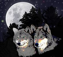 Wolves by Edmond  Hogge