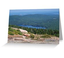 Eagle Lake Greeting Card
