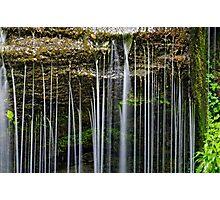 Rexford Falls - Summer - Detail Photographic Print