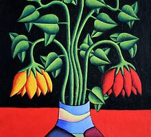 Softvase avec flowers by Alan Kenny