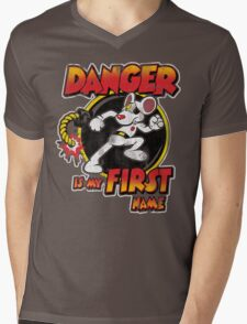 Danger is my First Name Mens V-Neck T-Shirt