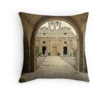 Into the Yard Throw Pillow