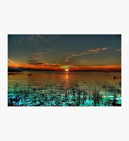 Opalescent Sunset Photographic Print