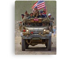 Room For One More On Top - War and Peace Canvas Print