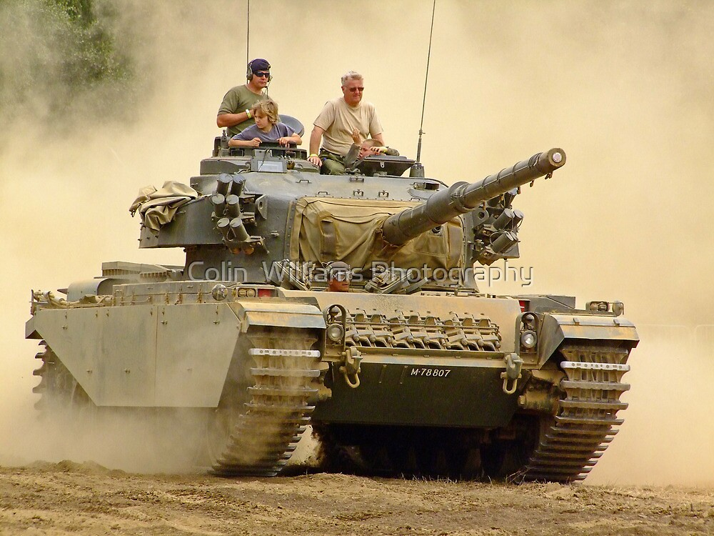 The Centurion Rumbles On - War and Peace by Colin  Williams Photography