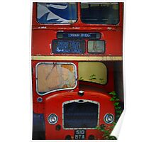 London Bridge Double Decker Bus In TN Poster