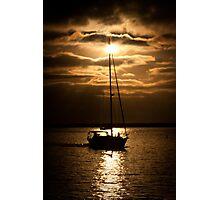 Sun Set Sail Photographic Print