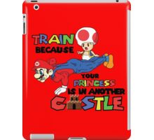 Mario Trains because iPad Case/Skin