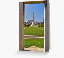 Wimereux Cemetery Greeting Card