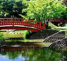 The Japanese Gardens at the Albert Kahn museum, Paris, France. by Rusty  Gladdish