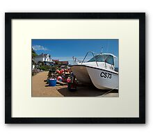 Steephill Cove, Isle of Wight Framed Print